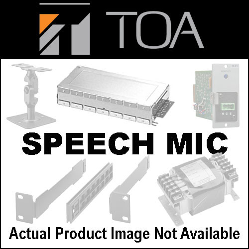 Toa Electronics WH-4000H Speech Head-Worn Microphone for the WM-4310 Bodypack Transmitter