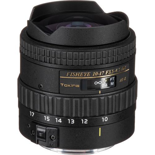Tokina 10-17mm f/3.5-4.5 AT-X 107 AF DX Fisheye Lens for Canon
