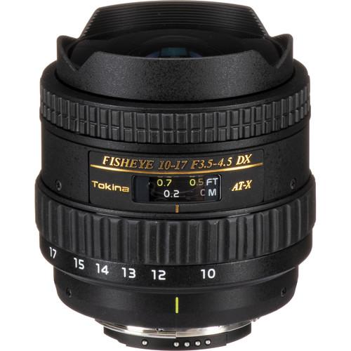 Tokina 10-17mm f/3.5-4.5 AT-X 107 DX AF Fisheye Lens for Nikon Digital SLR