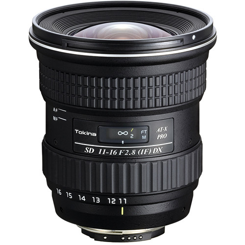 Tokina 11-16mm f/2.8 AT-X 116 Pro DX Autofocus Lens for Canon APS-C DSLRs