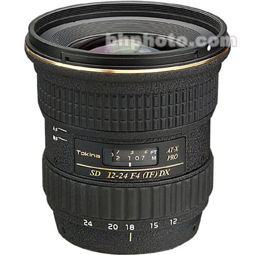 Tokina 12-24mm f/4 AT-X 124AF Pro DX Lens
