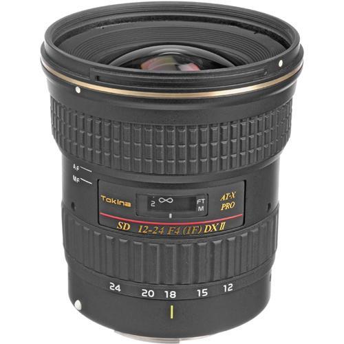 Tokina 12-24mm f/4 AT-X 124AF Pro DX II Autofocus Lens for Canon Digital Cameras