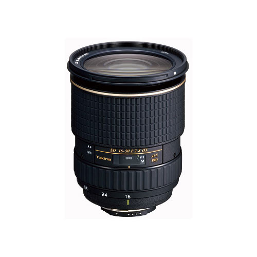 Tokina 16-50mm f/2.8 AT-X 165 PRO DX Autofocus Lens for Canon EOS Digital