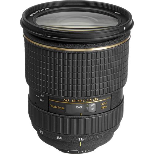 Tokina 16-50mm f/2.8 AT-X 165 PRO DX Autofocus Lens