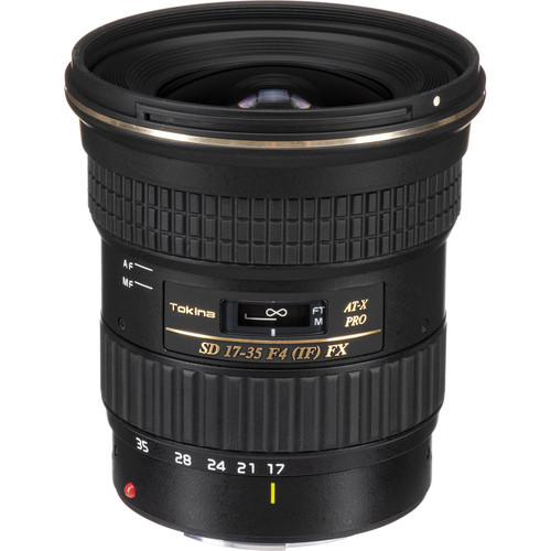 Tokina 17-35mm f/4 Pro FX Lens for Canon Cameras