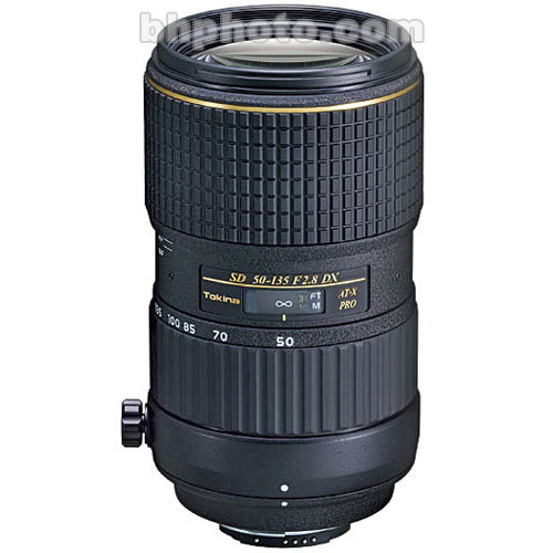 Tokina 50-135mm f/2.8 AT-X 535 PRO DX Autofocus Lens for Nikon