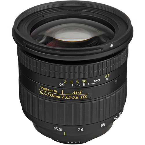 Tokina 16.5-135mm f/3.5-5.6 AT-X DX AF Lens for Nikon Digital Cameras