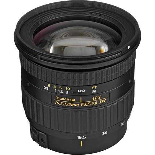 Tokina 16.5-135mm f/3.5-5.6 AT-X DX AF Lens for Canon Digital Cameras