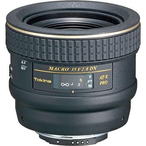 Tokina 35mm f/2.8 AT-X M35 Pro DX Macro Autofocus Lens for Canon EOS Digital