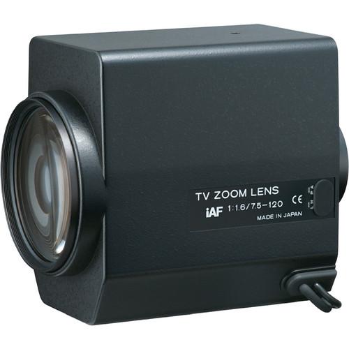 "Tokina TM16Z7516GAIDCPN-IAF 1/2"" Motorized Zoom Lens with Preset (7.5 to 120mm)"