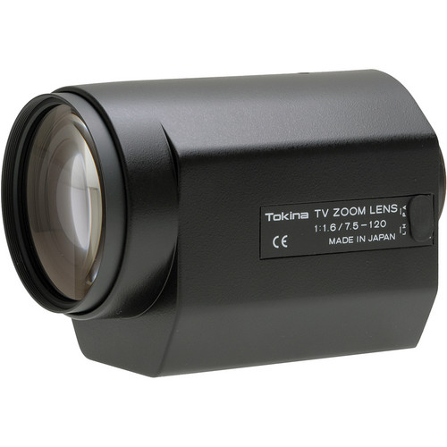 Tokina 7.5-120mm (16x) Motorized Zoom Lens w/Presets