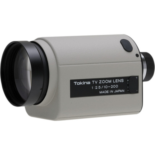 "Tokina TM20Z1025N 1/2"" C Mount 10-200mm f/2.5 Motorized Zoom Lens"