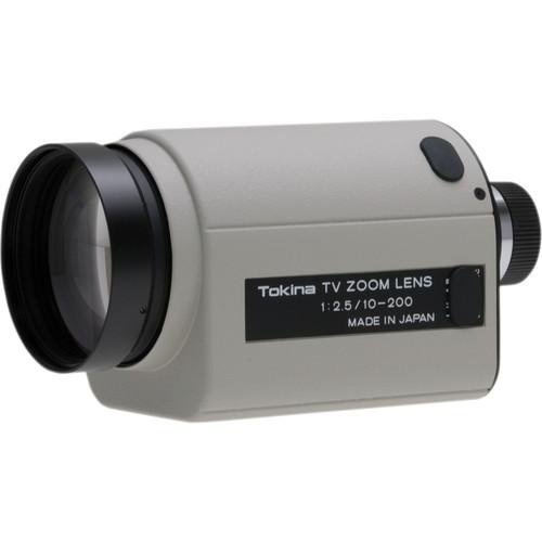 "Tokina TM20Z1025N 1/2"" C Mount 10-200mm f/2.5 Motorized Zoom Lens"