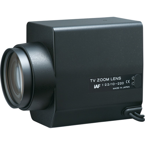 "Tokina TM22Z1022GAIDCPN-IAF 1/2"" Motorized Zoom Lens with Preset (10-220mm)"
