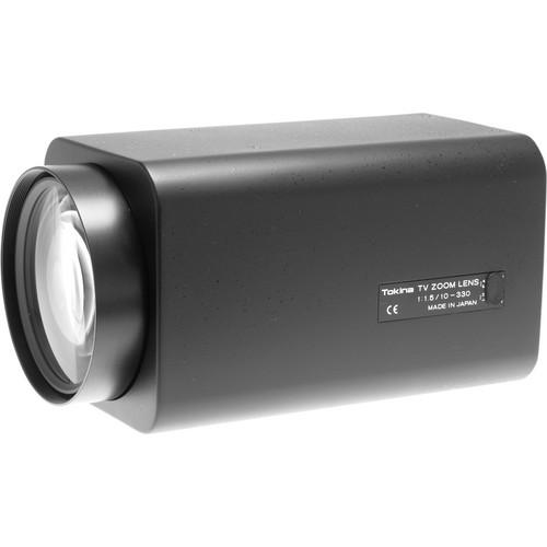 "Tokina TM33Z1015GAIDCPN 1/2"" Motorized Zoom Lens with Preset (10-330mm)"