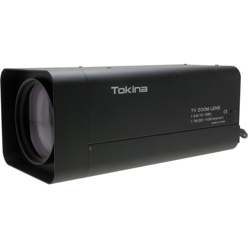 Tokina TM55Z1038AIPN Long Focal Length Motorized Zoom Lens (10-550mm)