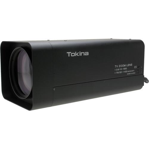 Tokina Motorized Zoom Lens (10-550mm) with Iris/Focus/Zoom Preset