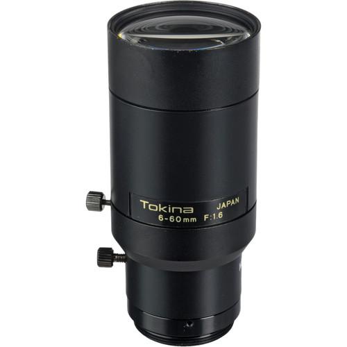 """Tokina TVR0616 1/3"""" CCTV Varifocal Lens (6-60mm, Manual Iris, CS Mount)"""