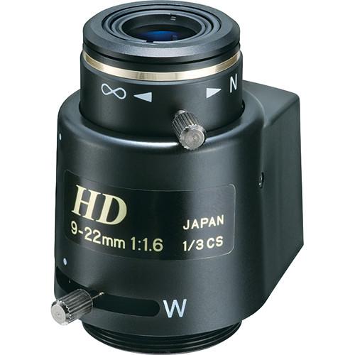 """Tokina TVR0916HDDC 1/3"""" Megapixel Varifocal Lens (9-22mm)"""
