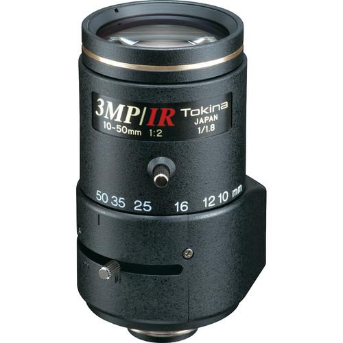 Tokina TVR1020HDDC-IR 3 MP Varifocal Lens (10-50mm)