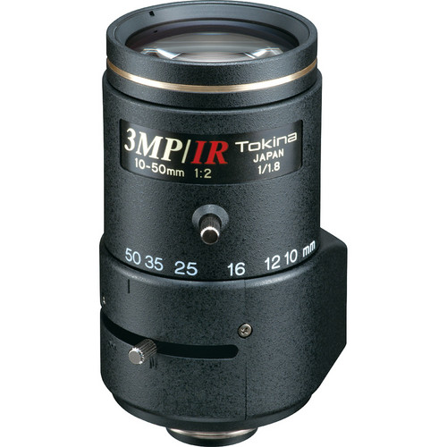"Tokina TVR1020HD-IR 1/1.8"" 3 MP Varifocal Lens (10-50mm)"