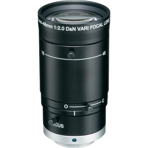 """Tokina TVR1620HD-IR 1/2"""" 5 MP Manual Iris Lens (16-48mm)"""