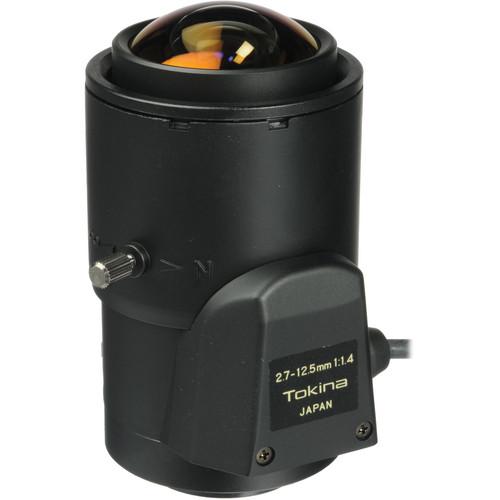 "Tokina TVR2714DC 1/3"" Varifocal CCTV Lens (2.7-12.5mm, Auto DC Iris, CS Mount)"