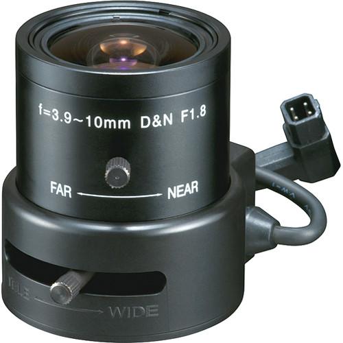 Tokina TVR3918HDDC-IR 3 MP Varifocal Lens (3.9-10mm)