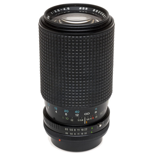Tokina Zoom Telephoto 80-200mm f/3.5-4.5 RMC Manual Focus Lens for Canon FD