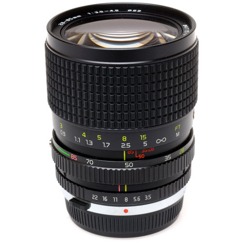 Tokina Zoom Wide Angle-Telephoto 28-85mm f/3.5-4.5 ATX Manual Focus Lens for Olympus