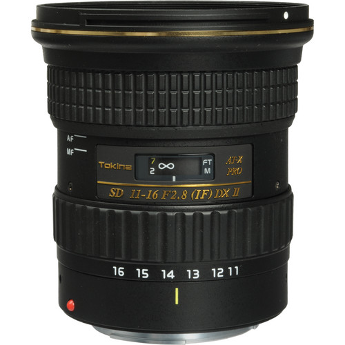 Tokina AT-X 116 PRO DX-II 11-16mm f/2.8 Lens for Canon EF