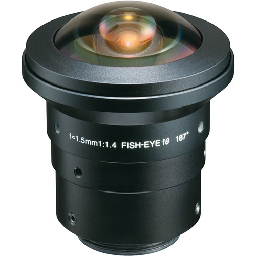 "Tokina TC1514HDIR 1/2"" 3 MP Fish Eye Lens (1.5mm)"