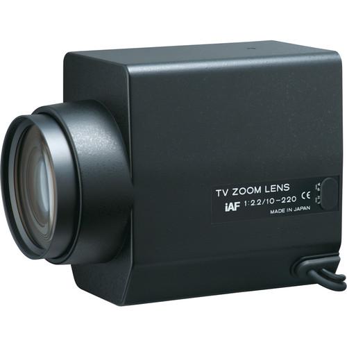 "Tokina TM22Z1022GAIDCPN-IAF 1/2"" Motorized Zoom Lens (RS-232 Controllable)"