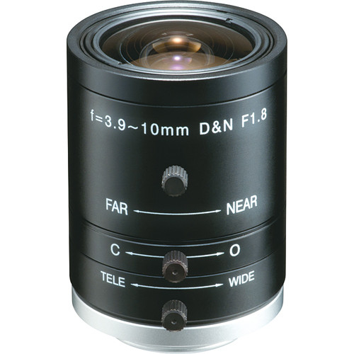 "Tokina TVR3918HDIR 1/2"" 3 MP Day/Night Lens (3.9-10mm)"