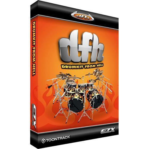 Toontrack Drumkit From Hell EZX - Expansion Pack for EZ-Drummer Plug-In Virtual Drum Module