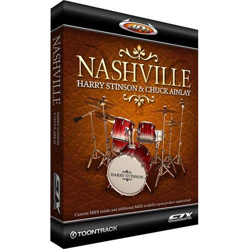 Toontrack Nashville EZX - Expansion Pack for EZ-Drummer