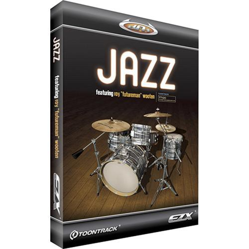Toontrack Jazz EZX - Expansion Pack for EZdrummer 2 (Download)
