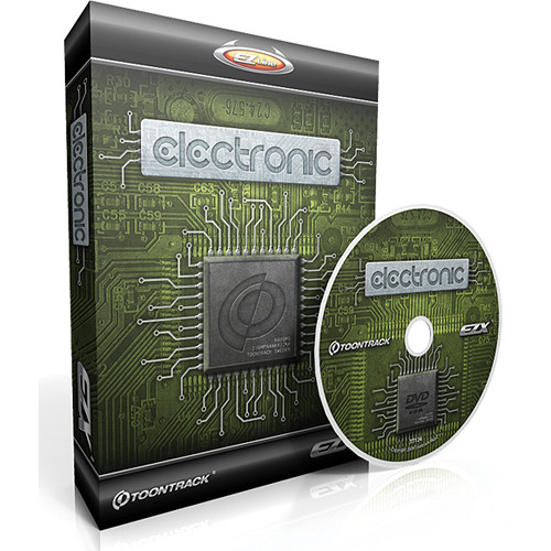 Toontrack Electronic EZX - Electronic Drum Collection