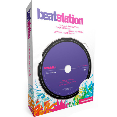 "Toontrack Beatstation - Virtual ""Groove Creation"" Instrument"