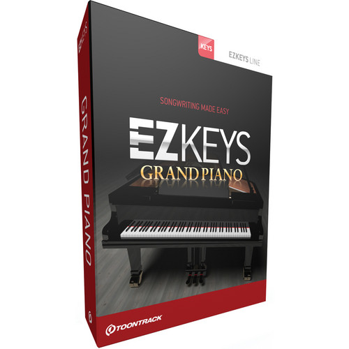 Toontrack EZkeys Grand Piano - Virtual Piano