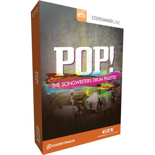 Toontrack Pop! EZX Drum Kit Soundbank for EZdrummer