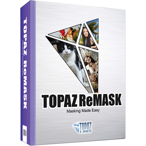 Topaz Labs LLC Topaz ReMask 3 Plug-In (DVD)