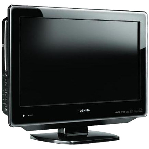 toshiba 22sldt3 22 lcd tv dvd player combo 22sldt3r b h. Black Bedroom Furniture Sets. Home Design Ideas