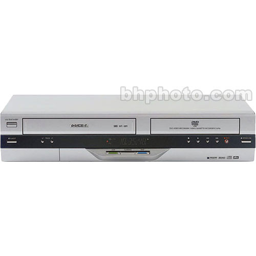Toshiba DEMO D-VR4X DVD Recorder and VHS VCR Combo