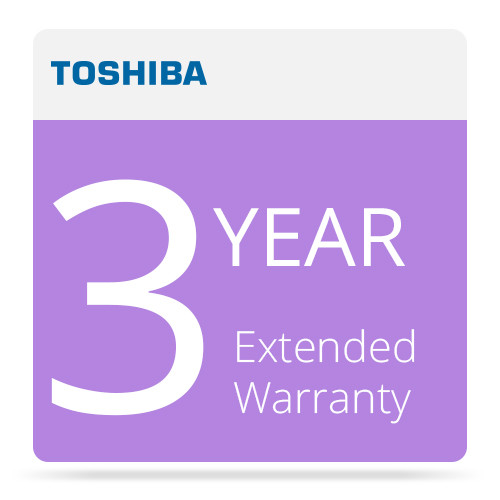 Toshiba 3 Year Extended Warranty Program for Surveillix Recording Products