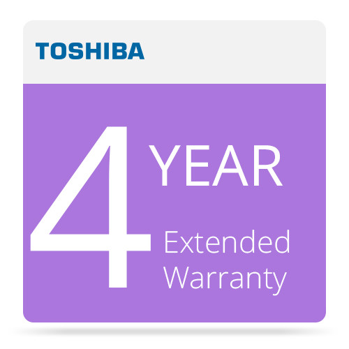 Toshiba 4 Year Extended Warranty Program for Surveillix Recording Products