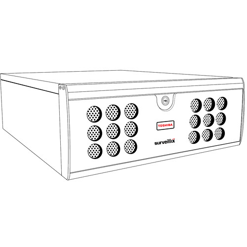 Toshiba IPS-30-30-3 Network Video Recorder