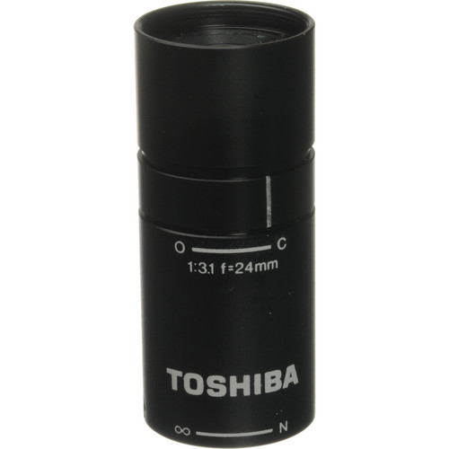 Toshiba JK-L24M2 24mm f/3.1 Micro Mount Lens