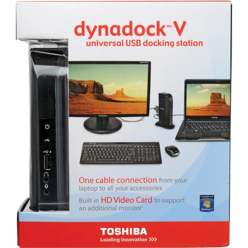 Toshiba dynadock V USB Docking Station with Video