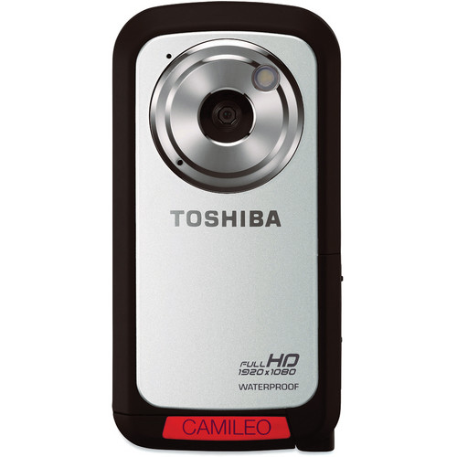 Toshiba Camileo BW10 HD Waterproof Camcorder (Silver)
